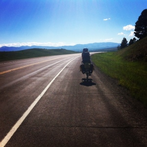 cycling to White Sulfur Springs